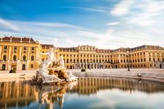 奥地利宫殿schonbrunn维也纳 库存照片