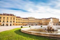 奥地利宫殿schonbrunn维也纳 免版税库存照片