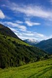 奥地利山景 免版税库存照片