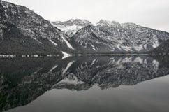 奥地利山 免版税图库摄影