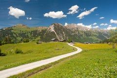 奥地利山 库存图片