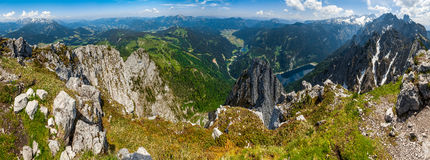 奥地利山 免版税库存图片