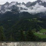 奥地利山 库存照片