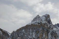 奥地利山 免版税库存照片