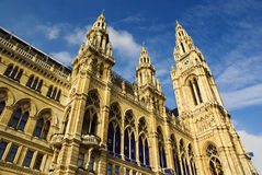 奥地利市政厅维也纳 图库摄影