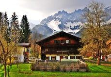 奥地利房子 免版税库存图片