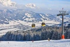 奥地利手段schladming滑雪 奥地利 免版税图库摄影