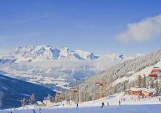 奥地利手段schladming滑雪 奥地利 免版税库存照片