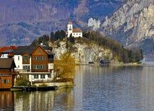 奥地利教堂 库存照片
