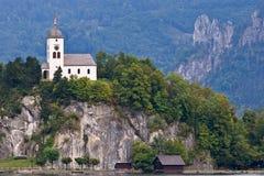 奥地利教堂johannesberg 免版税库存图片
