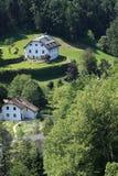 奥地利横向萨尔茨堡 免版税库存图片