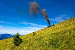 奥地利湖山假期 库存图片