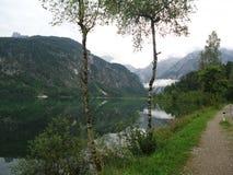 奥地利湖 库存图片