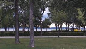 奥地利湖 免版税库存照片