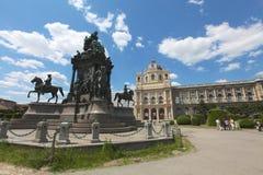 奥地利的女皇Elisabeth的纪念碑 免版税图库摄影