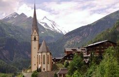 奥地利的阿尔卑斯 图库摄影