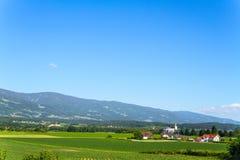 奥地利的阿尔卑斯 免版税库存照片