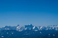 奥地利的阿尔卑斯 库存照片