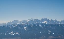 奥地利的阿尔卑斯 免版税库存图片
