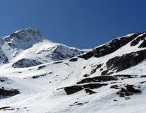 奥地利的alpes 库存照片