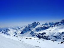 奥地利的alpes 免版税库存照片