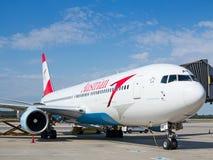 A-319奥地利航空 免版税库存图片