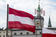 奥地利萨尔茨堡 免版税库存照片