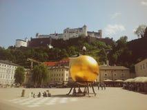 奥地利萨尔茨堡 免版税图库摄影