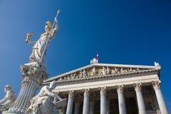 奥地利议会维也纳 免版税图库摄影