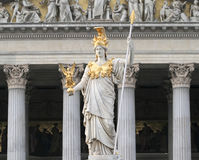 奥地利议会 库存图片