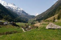 奥地利谷出气孔 免版税库存照片