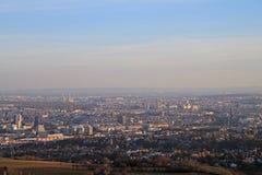 奥地利首都维也纳看法  库存图片
