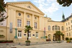奥地利,在维也纳Baden邶维恩,市政剧院附近的Baden, 免版税图库摄影