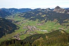 奥地利,坦海姆谷 免版税库存图片