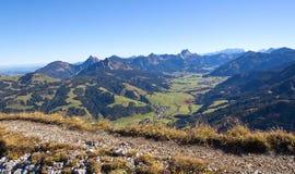 奥地利,坦海姆谷 免版税库存照片