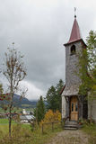 奥地利,坦海姆,教堂 免版税库存照片