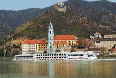 奥地利,多瑙河谷 库存照片
