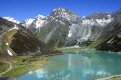 奥地利,蒂罗尔,山湖 库存图片