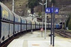 奥地利,赛梅林铁路 库存图片