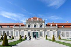 奥地利,维也纳- 2016年5月14日:照片视图 免版税库存照片