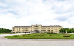 奥地利,维也纳- 2016年5月14日:照片视图 库存图片
