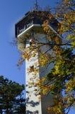 奥地利, Berndorf,观看的塔 库存照片