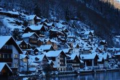 奥地利, Krajobraz, Hallstatt 图库摄影