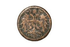 奥地利-匈牙利帝国2赫勒硬币 免版税库存照片
