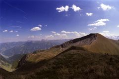 奥地利badhofgastein 免版税库存图片