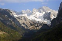 奥地利dachstein峰顶 库存照片
