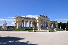 奥地利gloriette宫殿schonbrunn维也纳 图库摄影