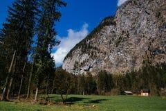 奥地利hallstatt 库存图片