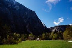 奥地利hallstatt 免版税库存照片