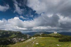 奥地利raxalpen夏天 库存图片